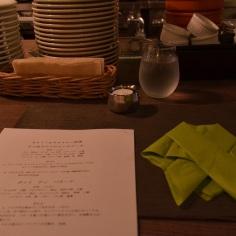 ご一緒させて頂いた素敵女子みどりさんがテーブルコーディネートをご教授くださいました。遠いとこからいらしたのに素敵な小物をご用意くださいました。ありがとうございます。